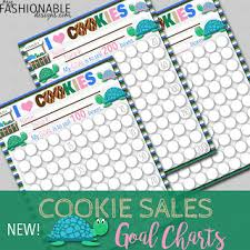 My Fashionable Designs Free Printable Turtle Cookie Sales