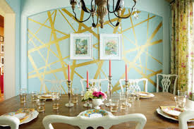 metallic interior paint8 Incredible Interior Paint Ideas From Real Homes That Turn A Wall