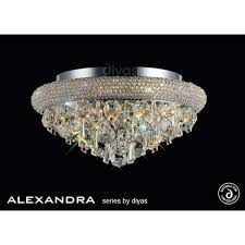 crystal ceiling lights semi flush 6 light polished chrome and crystal ceiling fitting crystal ceiling lights crystal ceiling