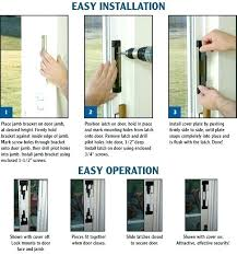 install sliding glass door pocket door security locks how to install sliding glass door lock sliding