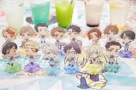 Osaka Anime Yuri On Ice Collaboration Cafe Photo