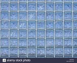 Textures Of The City Window Made Of Glass Bricks Stock Photo