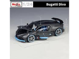 Subito a casa e in tutta sicurezza con ebay! New Bugatti Divo Gray Maisto 1 24 Scale Diecast Model Car Roadster Collection Us Polybull Com
