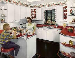 Retro Kitchen 1940s Kitchens Wall Borders Kitchens And Walls