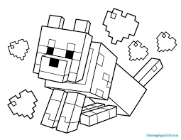 Small Picture Minecraft Coloring Pages for Kids Coloring Pages For Kids