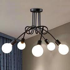 flush mount lighting 5 light multi directional ceiling lights