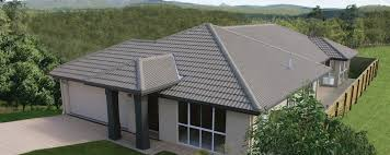 classic exterior polished with white wall theme and brown roof