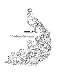 7a0e4ff07b135290abeaf9bf6cf02ff4 free printable peacock template free stencil gallery artsy on van signwriting template
