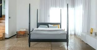 Moroccan Bed Frame West Elm Morocco Headboard Simple Queen Chocolate ...
