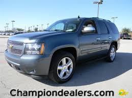 2008 Blue Granite Metallic Chevrolet Tahoe LTZ #59001890 ...