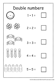 Double Numbers Worksheet Free Printable Adding Double Numbers ...