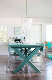 view in gallery trestle table with picnic table style
