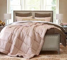 Portia Cotton Silk Quilt and Sham | Pottery Barn &  Adamdwight.com