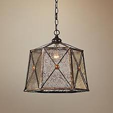 mercury glass lighting fixtures. uttermost basiliano 14 mercury glass lighting fixtures h