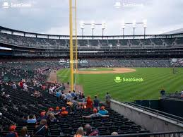 Comerica Park Section 114 Seat Views Seatgeek
