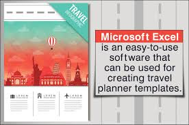 trip planner templates best examples of travel planner templates for a perfect trip