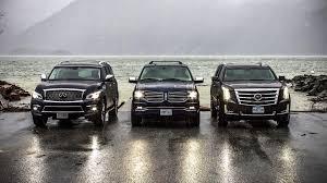 luxury full size suv full size luxury suvs comparison test lincoln navigator vs