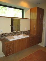 bamboo bathroom vanity. Custom Bamboo Plywood Bathroom Vanity Contemporary-bathroom