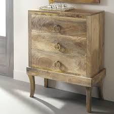 to Coast Imports 3 Drawer Brown Chest