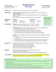 Waiter Resume Objective Waitress Resume Sample Leasing Consultant