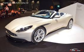 2018 Aston Martin Db11 Volante 4 0 V8 510 Hp Automatic Technical Specs Data Fuel Consumption Dimensions