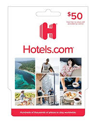 Amazon.com: Hotels.com Gift Card $50: Gift Cards