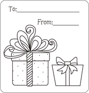 Gift Tag Coloring Page Christmas Gift Tags To Color Free Printable Gift Tags For