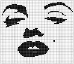 Free Marilyn Monroe Embroidery Designs Free Marilyn Monroe Cross Stitch Chart Stitching People