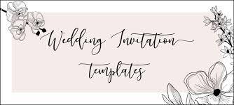 Gorgeous Wedding Invitation Templates The Hungry Jpeg