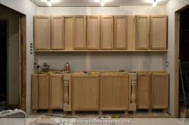 installing lower cabinets 9