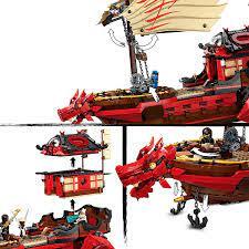 LEGO 71705 NINJAGO Legacy Destiny's Bounty Children's Building Kit: Amazon.de:  Spielzeug