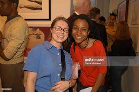 "Ashley MeHall and Lenise Hall attend ""It'll cost you..."" Group show... News  Photo - Getty Images"