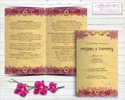 printable ceremony wedding invitation