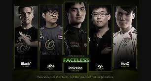 dota 2 news team faceless iceiceice s new team in singapore