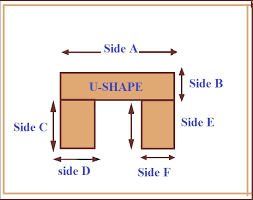 u shape