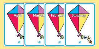 Sparklebox Birthday Charts Editable Birthday Kite Display Birthday Birthday Display