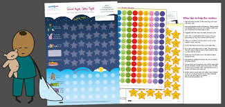 Sleep Reward Chart Victoria Chart Company