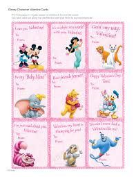 disney valentine s day cards to print. Exellent Valentine Disney Character Valentine Cards Download PDF In S Day Cards To Print F