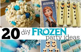 Diy Party Printables 20 Diy Frozen Party Ideas