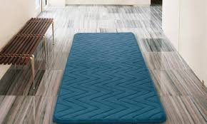 oversized memory foam bath rug