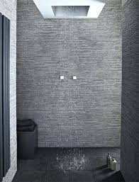 dark grey shower floor tile perfect ideas alternative that you could use on the simple pebble