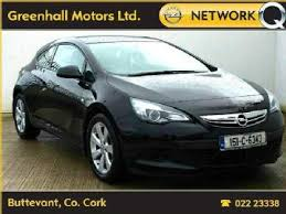 black opel astra 3 door