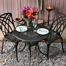 the anna table with april chairs are comfortable and the set looks good overall we are very happy with our purchase and we would recommend lazy susan to