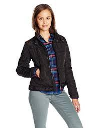 Amazon.com: U.S. Polo Assn. Junior's Quilted Moto Jacket: Clothing & U.S. Polo Assn. Junior's Quilted Moto Jacket, Black, Medium Adamdwight.com