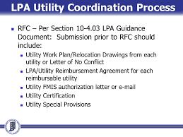 Lpa Utility Coordination Natalie Parks P E American