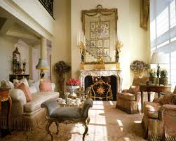 ... Home French Style Interiors For Expert French Style Living Room Design:  Charming ...