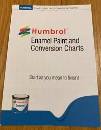 Humbrol Conversion Chart Humbrol P1158 Enamel Paint Colour And Conversion Chart