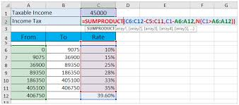 Salary Calculator In Excel Free Download How To Calculate Income Tax In Excel