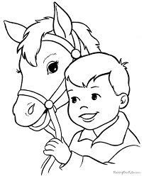 Small Picture Horse coloring pages 007