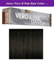 Joico Verocolor Color Chart Joico Vero K Pak Hair Color 4nn Plus Age Defy To View The
